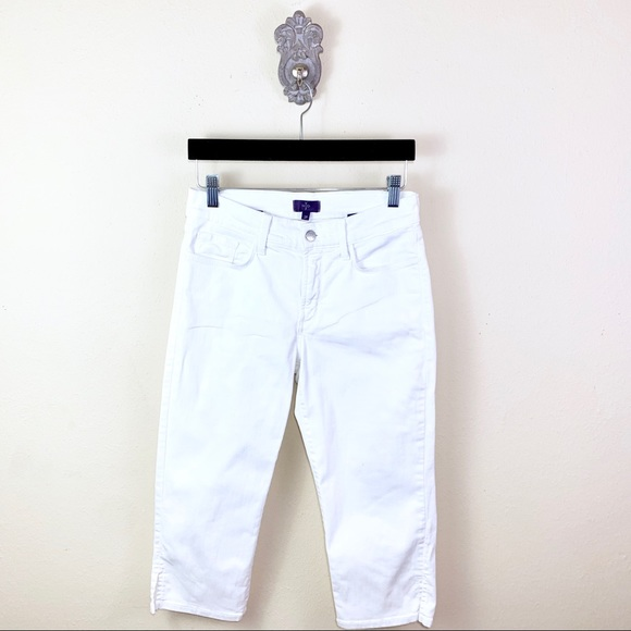 NYDJ Denim - NYDJ White Crop Jeans